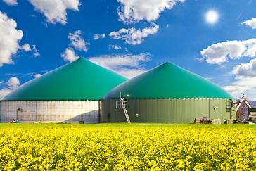 Nachhaltigkeit Biogasanlage