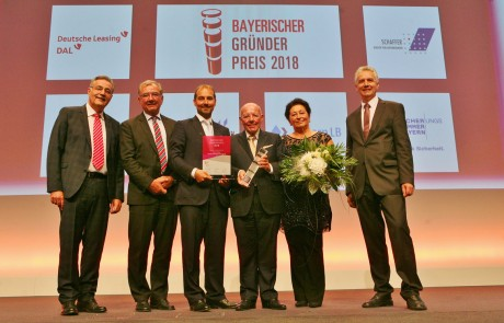 Preisverleihung Bayerischer Gründerpreis