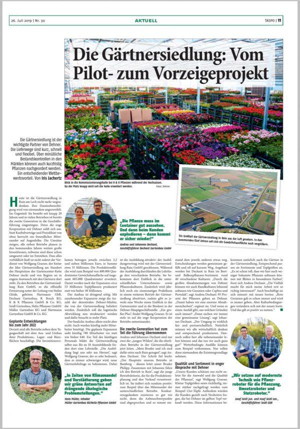 Taspo: Gärtnersiedlung - vom Pilot- zum Vorzeigeprojekt